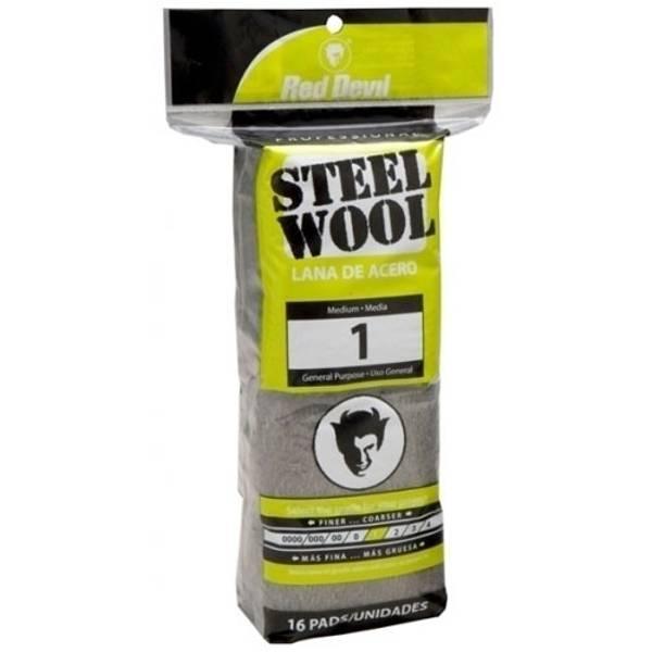 Medium #1 Steel Wool Pads