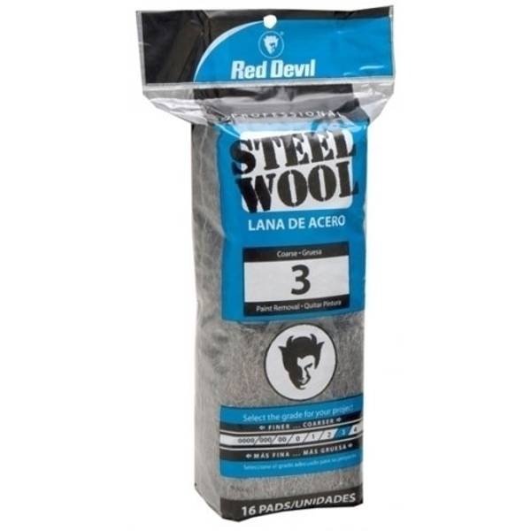 Coarse #3 Steel Wool Pads