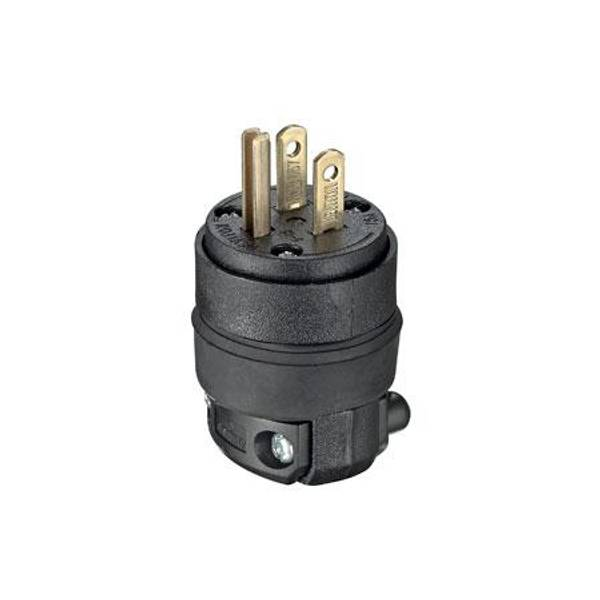 15 Amp Rubber Grounding Plug