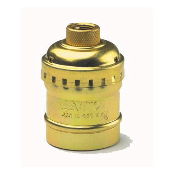Keyless Metal Shell Lampholder