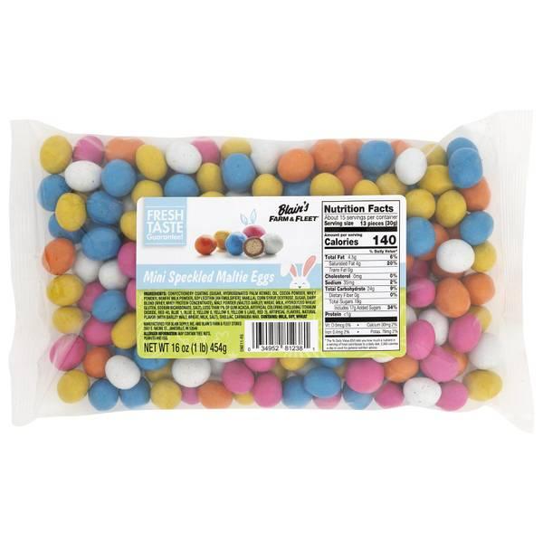 Mini Speckled Maltie Eggs