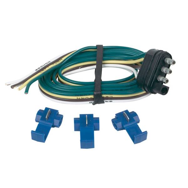 4 - Wire Flat Trailer End connector