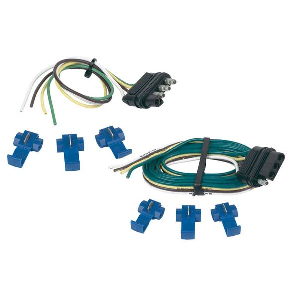 """48"""" Vehicle and 12"""" Trailer End 4 - Wire Flat Set"""