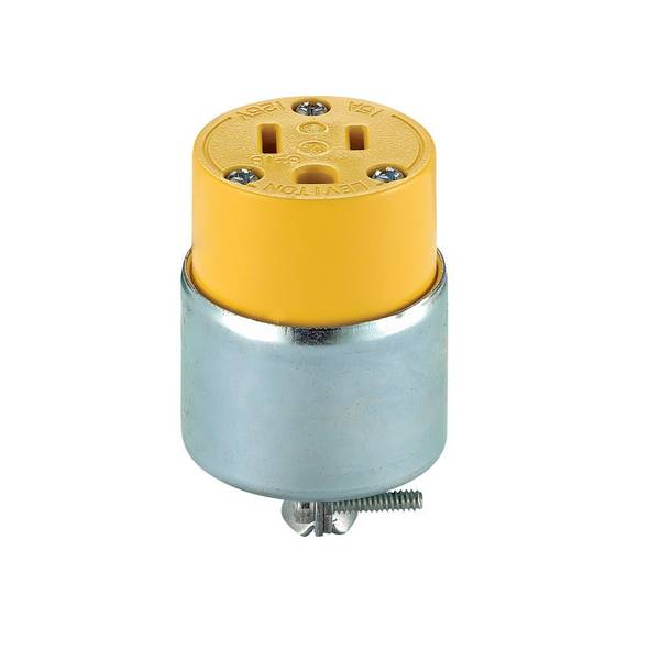 15 Amp Armored Grounding Connector