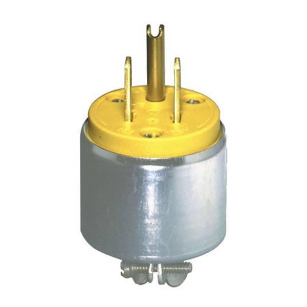 15 Amp Armored Grounding Plug