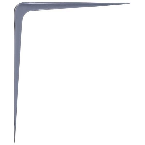 Strong Arm Gray Shelf Bracket