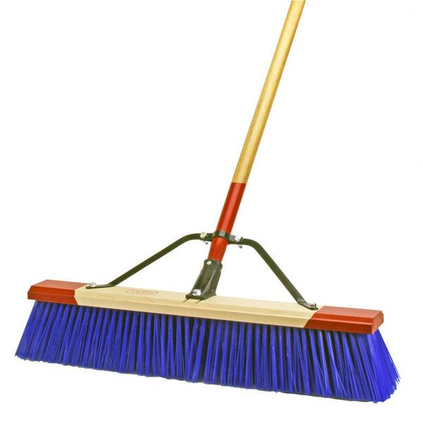 Big Blue Assembled Broom