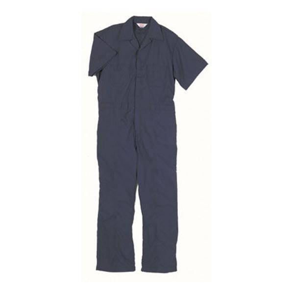 Men's Short Sleeve Poplin Twill Non Insulated Coveralls
