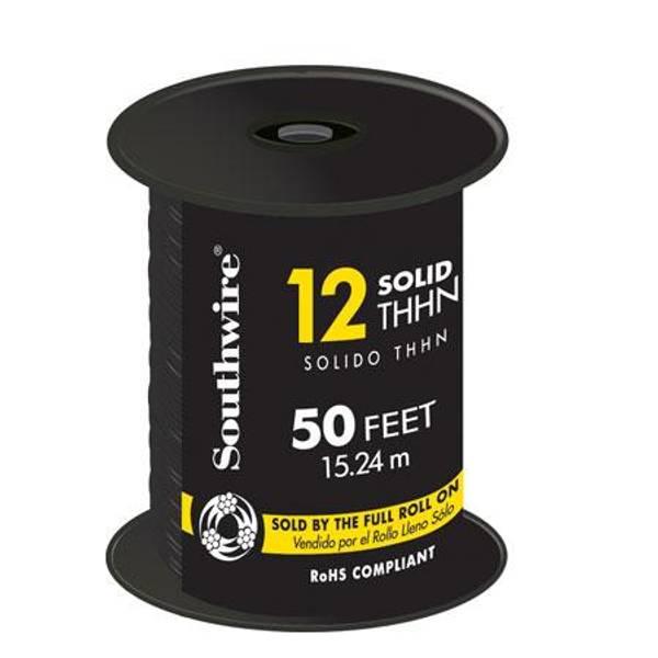 12 Gauge Solid THHN Multi - Purpose Copper Wire