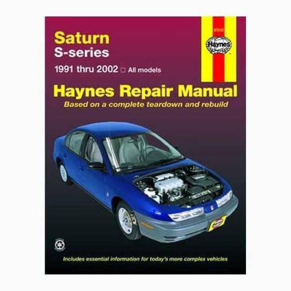 Saturn S-series, '91-'02 Manual