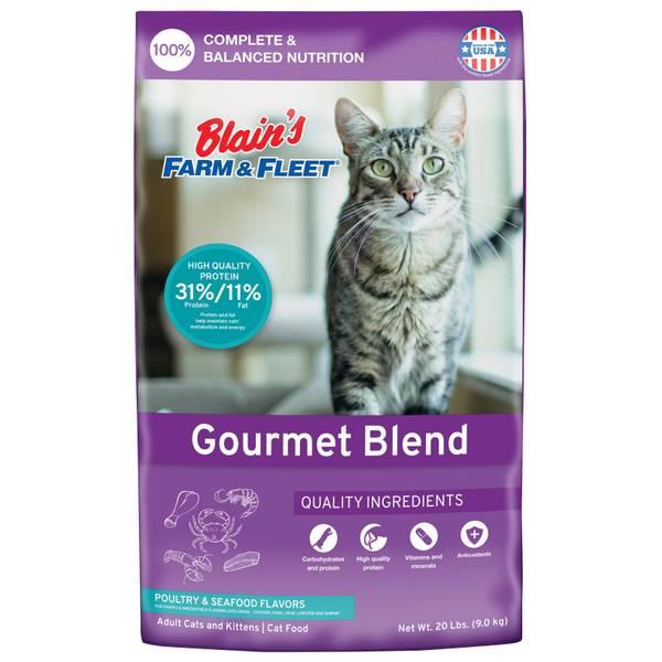 20 lb Gourmet Cat Food
