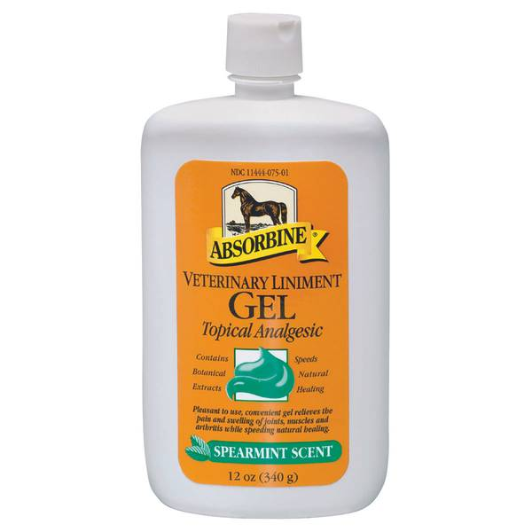 Veterinary Liniment Gel Topical Analgesic