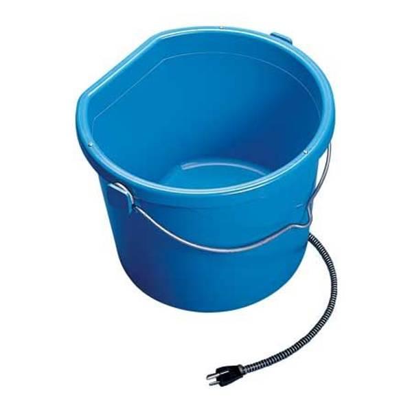 5 Gallon Heated Flat-Back Bucket