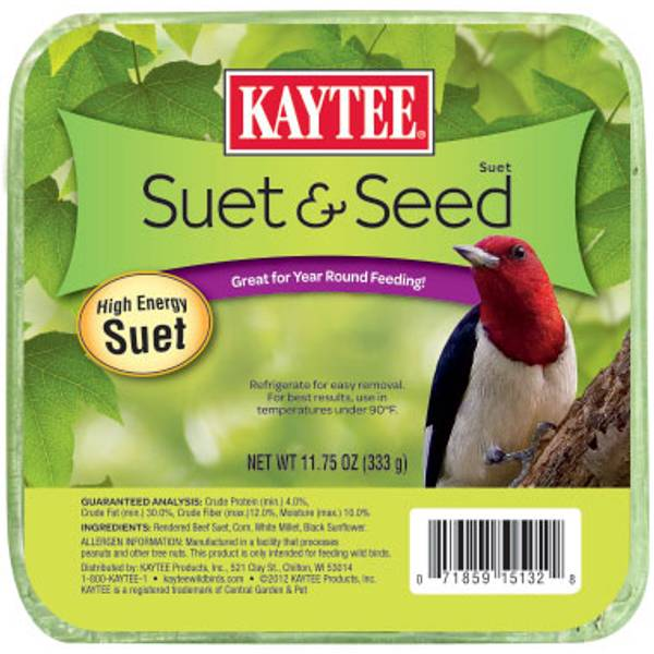 Suet & Seed High Energy Food