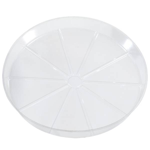 Clear Plastic Plant Saucer