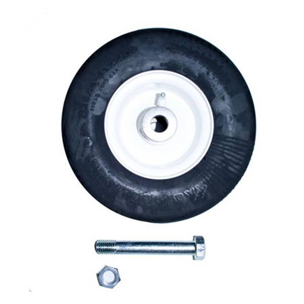 Finish Mower Wheel with Axle