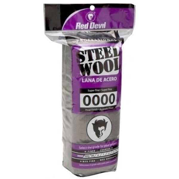 Steel Wool 0000 Malaysia: Red Devil Super Fine #0000 Steel Wool Pads