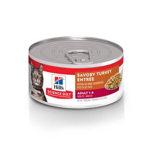 5.5 oz Gourmet Turkey Entree Adult Cat