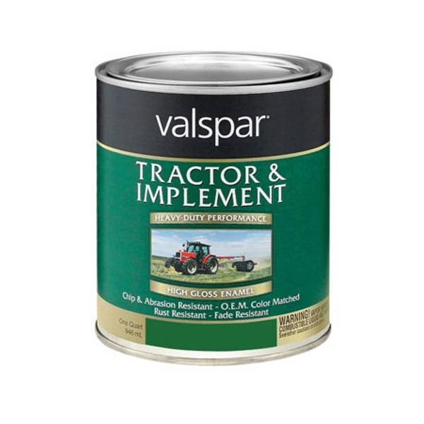 Valspar Tractor Paint White