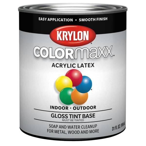 Valspar Acrylic Latex Gloss Enamel Tint Base Paint