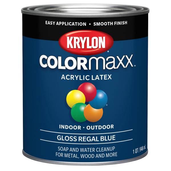 acrylic enamel paint vs latex