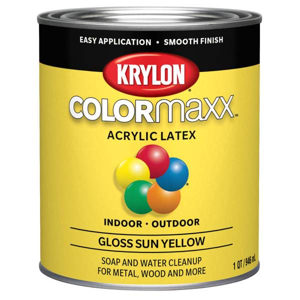 What Is Acrylic Latex Enamel Paint