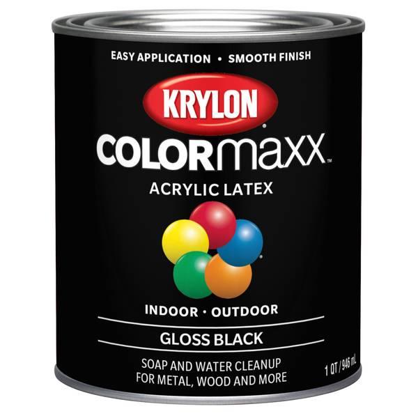 Valspar 1 Quart Acrylic Latex Gloss Enamel Paint