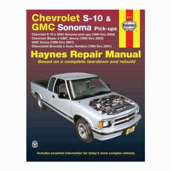 Chevrolet S-10 (94-04) & GMC Envoy (98-01) Manual