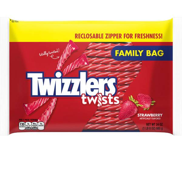 Strawberry Twists Family Bag