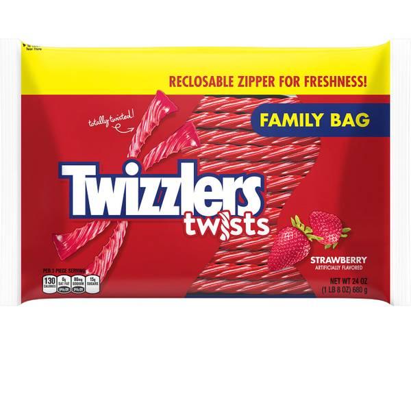 Photo of Strawberry Twists Family Bag