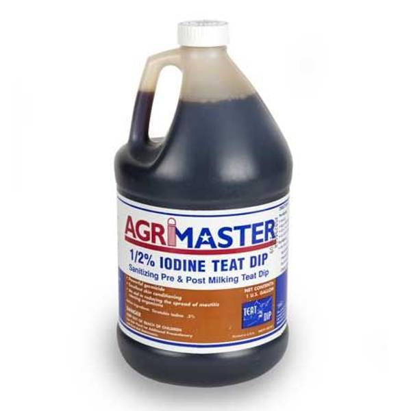 1/2% Iodine Teat Dip