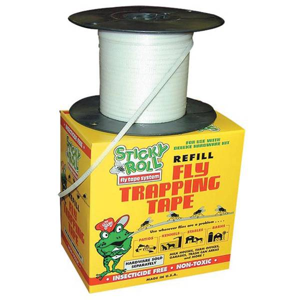 Sticky Roll Fly Trap System Deluxe Tape Refill