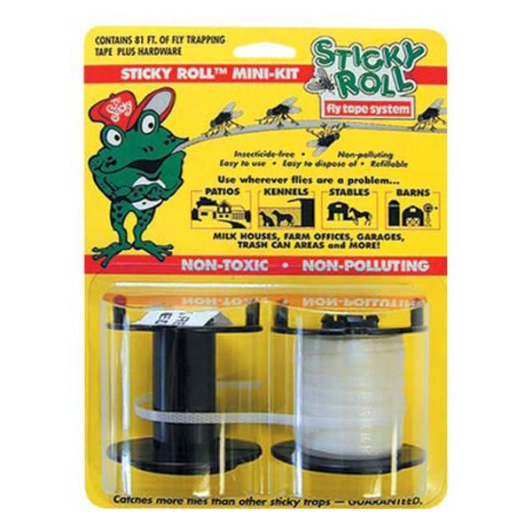 Sticky Roll Fly Trap System Mini Kit