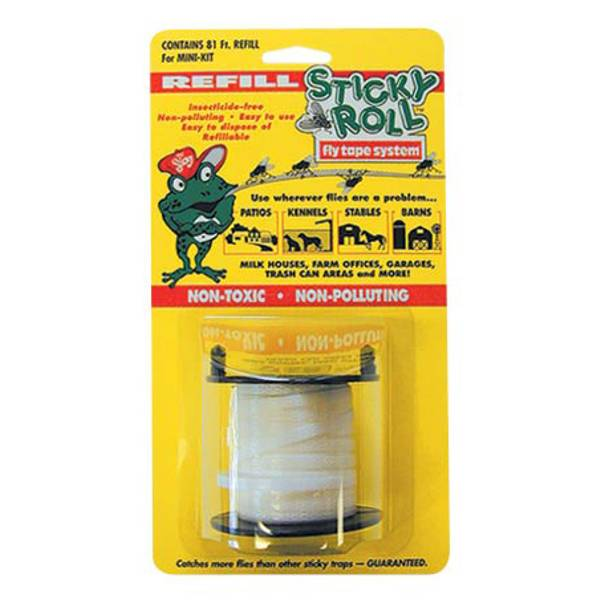 Sticky Roll Fly Trap System Mini Kit Tape Refill