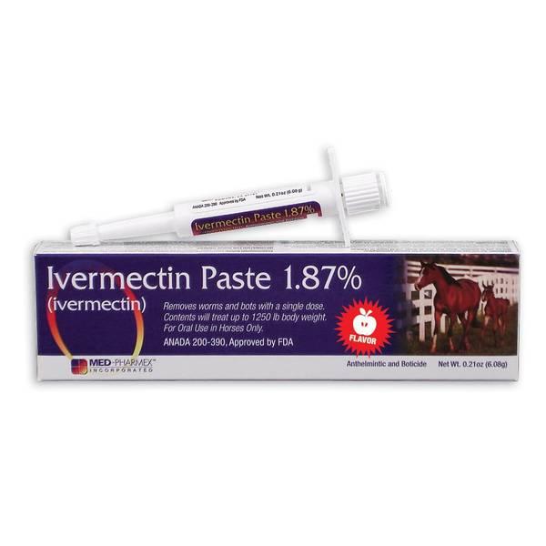 Equine Ivermectin Paste 1.87%