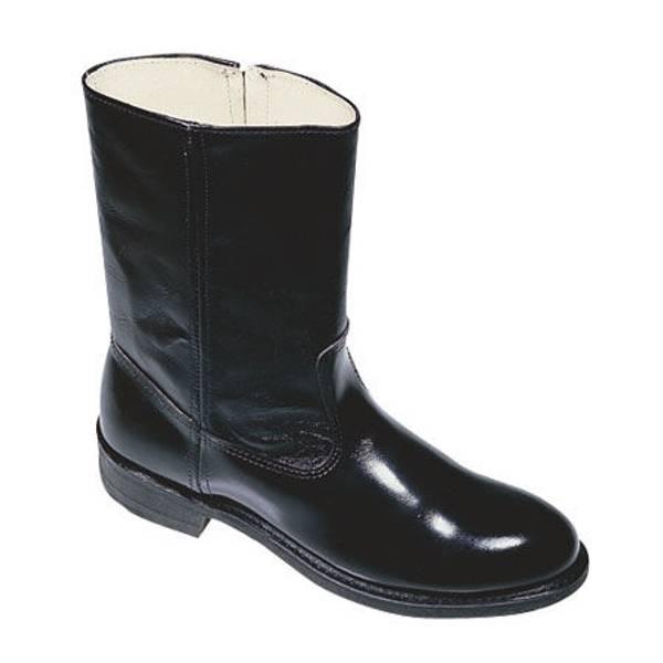 Men's Trooper Size Zip Uniform Boot