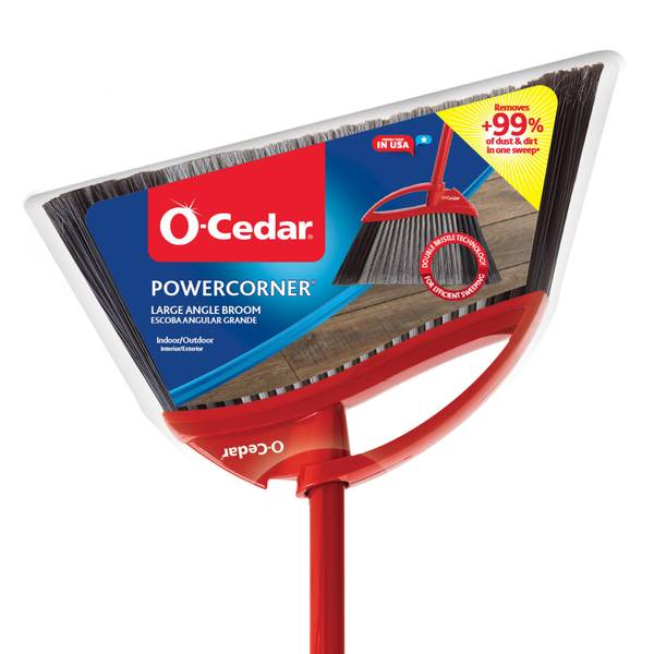 Power Corner Large Angle Broom