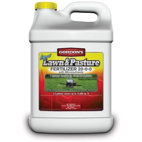 Liquid Lawn & Pasture Fertilizer 20-0-0 with Micronutrients