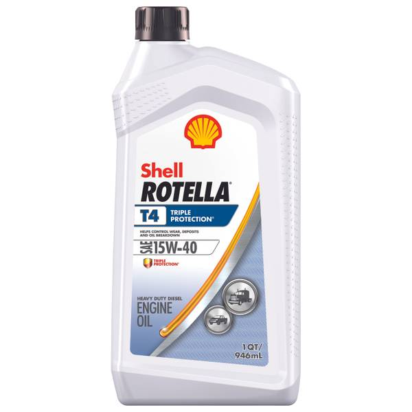 Rotella T Triple Protection Multi - Grade SAE 15W40 Conventional Diesel Engine Oil