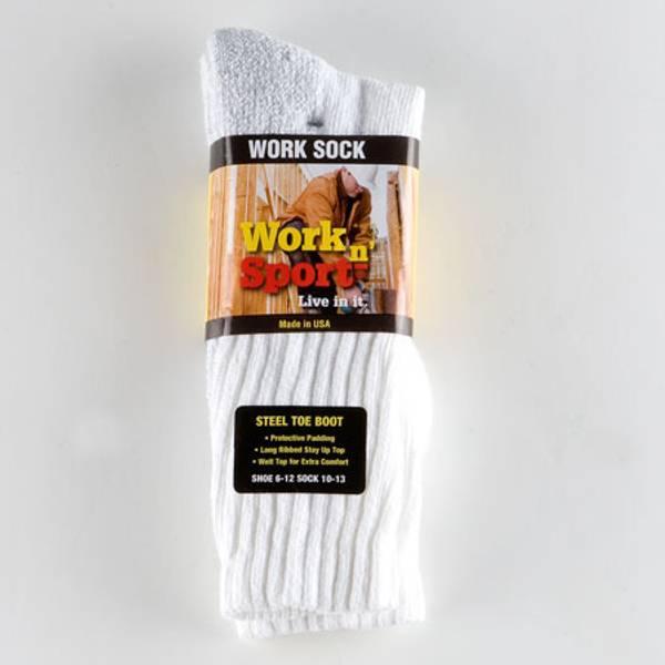 Men's Steel Toe Boot Socks