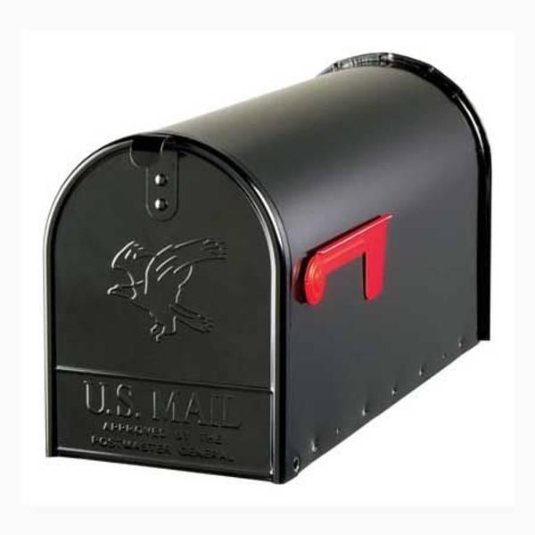 Elite Large Galvanized Steel Mailbox