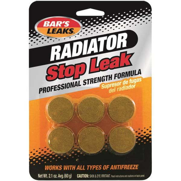 Bar S Leaks Heavy Duty Radiator Stop Leak Tablets