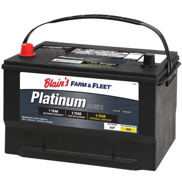 7-Year Platinum Automotive Battery