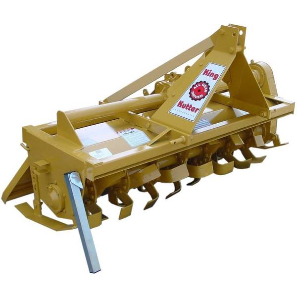 Prieferts gear driven rotary tiller can take on the toughest jobs in a variety.