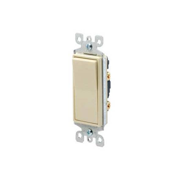Decora Single Pole AC Quiet Rocker Switch