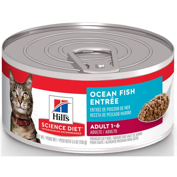 5.5 oz Savory Seafood Entree Adult Cat Food