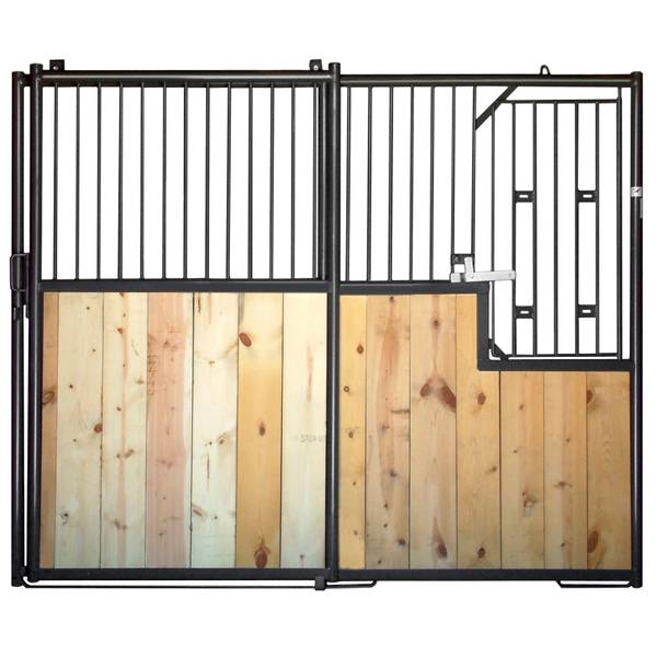 Modular Horse Stall Panel with Door