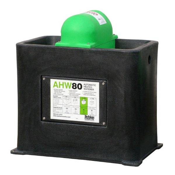 AHW80 Electric Heated Cattle & Horse Waterer