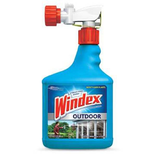 Windex outdoor glass patio cleaner for Exterior window cleaner