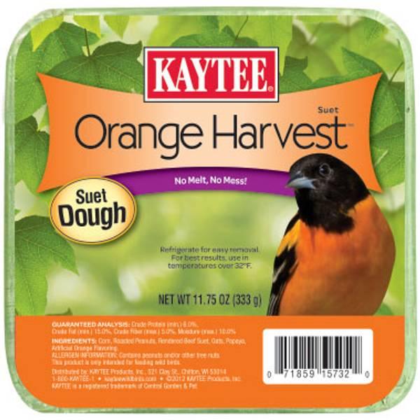 Orange Harvest High Energy Suet Dough